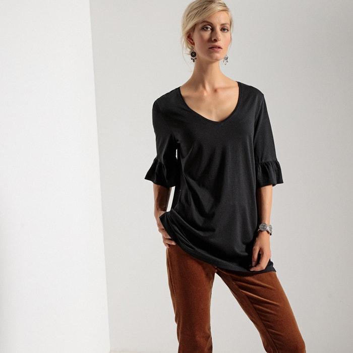 WEYBURN Camiseta 237;a con modal 243;n 250;nica algod y manga fantas t ANNE CxnHw7px