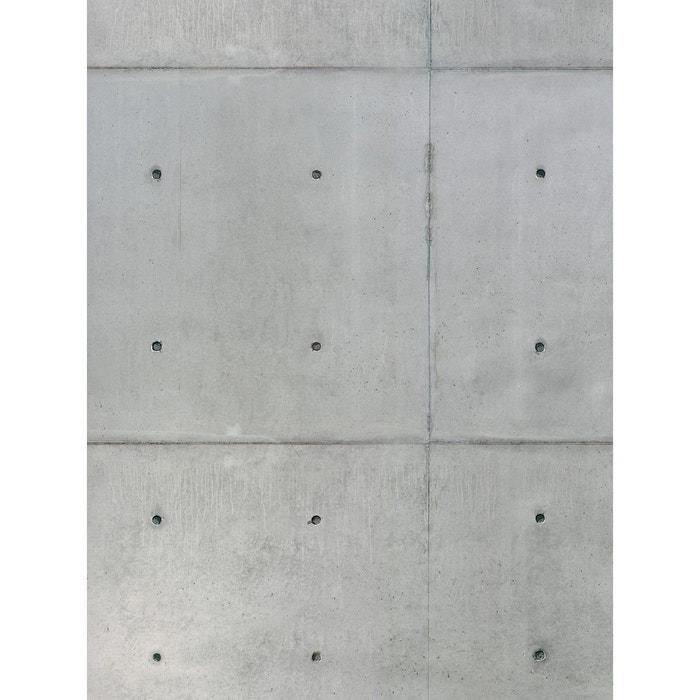 papier peint double l effet beton gris lgd01 la redoute. Black Bedroom Furniture Sets. Home Design Ideas