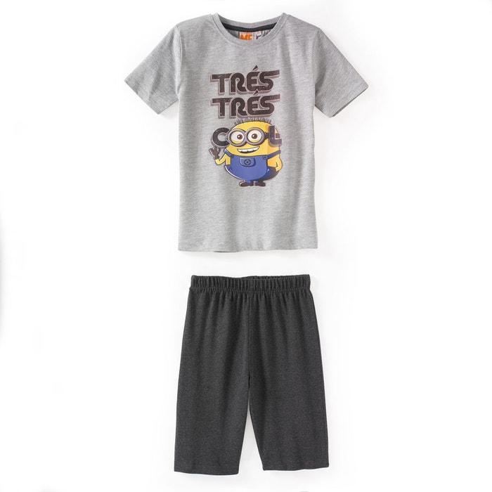 Pyjashort imprimé, 3 - 12 ans  LES MINIONS image 0