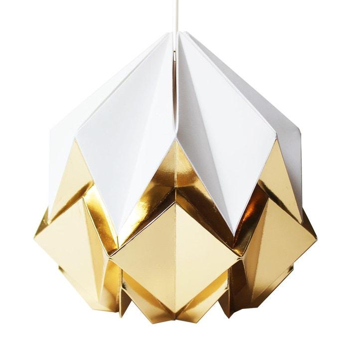 Suspension Origami Design en Papier Or  TEDZUKURI ATELIER image 0