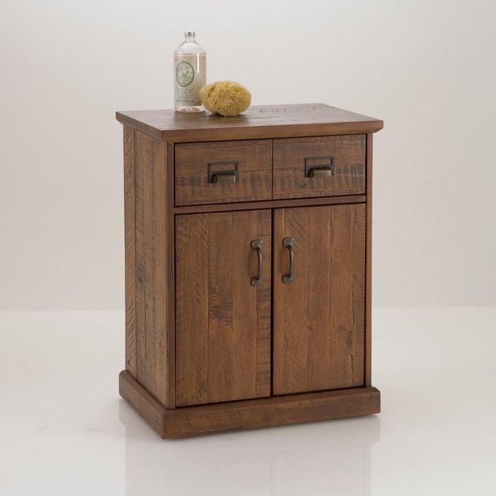 Lindley 2 door, 1 drawer chest, solid wood