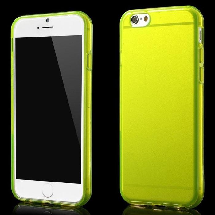 coque iphone 7 jaune flashy