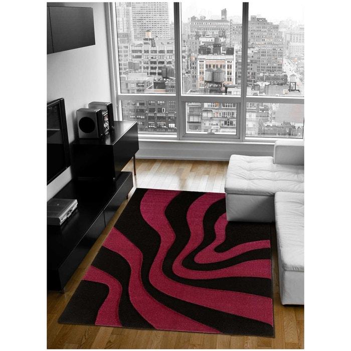Tapis de Salon tapis Moderne Design DAISY VAGUE - Polypropylène frisée