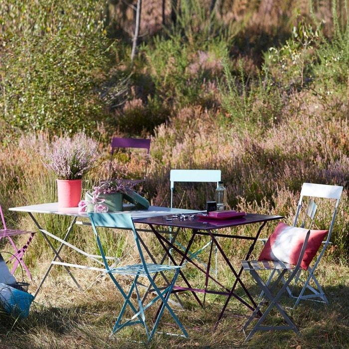 Other Image Metal Folding Garden Bench La Redoute Interieurs