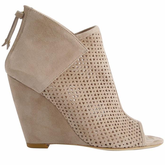 Chaussures compensées siena noir Exclusif Paris Acheter Pas Cher Authentique YBYXiKS