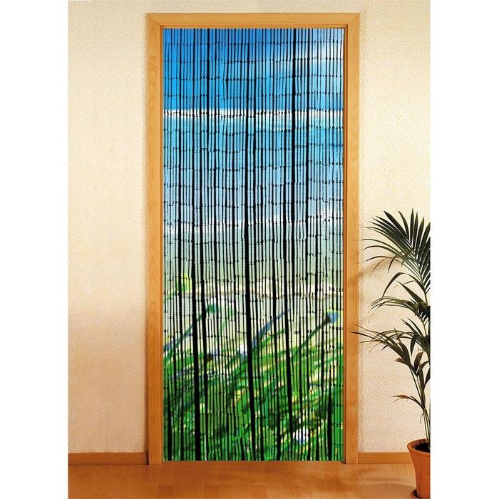 Rideau de porte déco côte - bambou - 90 x 200 cm - multicolore ...