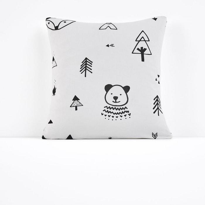Taie d'oreiller imprimée FOREST CAMP