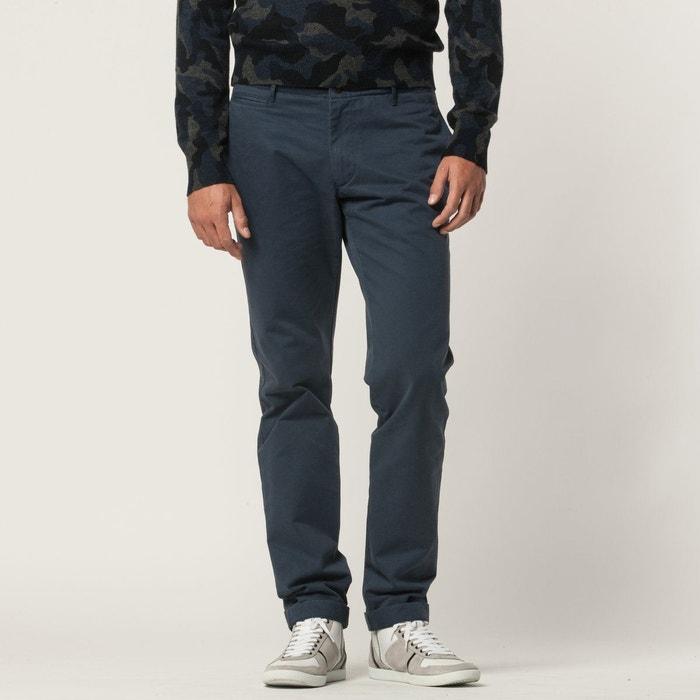 428fc24ae94010 Pantalon tucson, chino, toile coton bleu Hartford   La Redoute