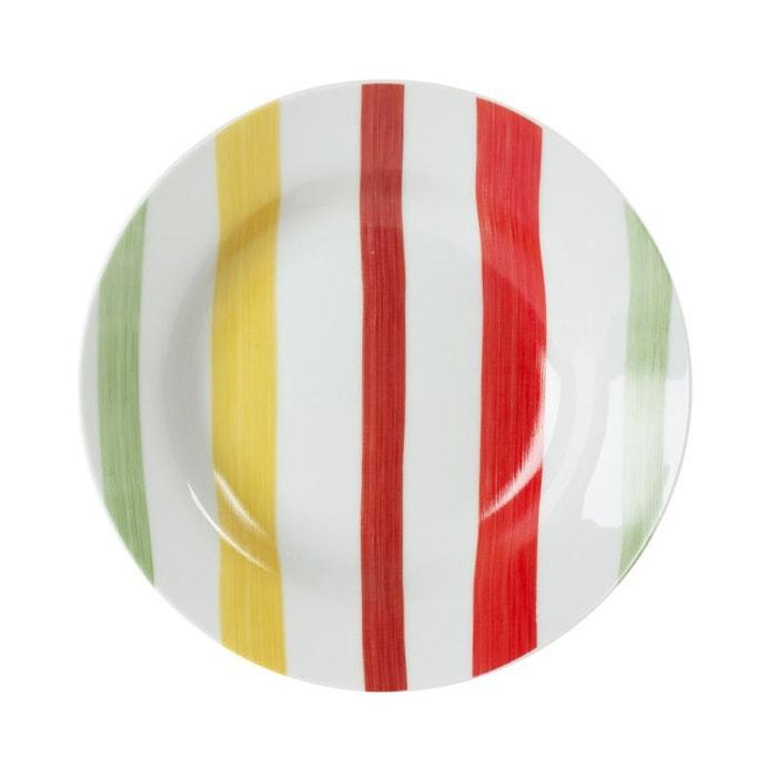 Assiette Creuse 20 Cm Bahia ( Lot De 6 ) Multicolore Trend Up | La