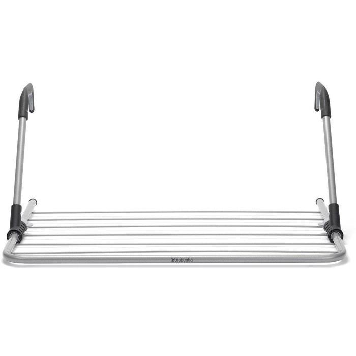 etendoir linge suspendu metallic grey brabantia la redoute. Black Bedroom Furniture Sets. Home Design Ideas