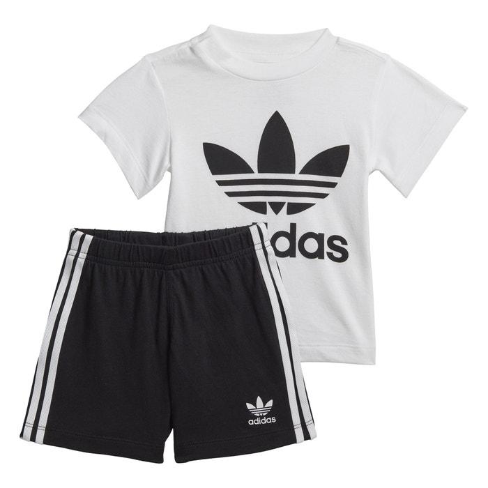 adidas ensemble short t shirt