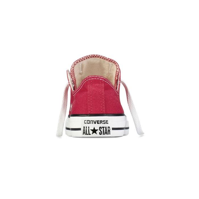 204e40cabf2 Baskets basses ctas ox core canvas rouge Converse
