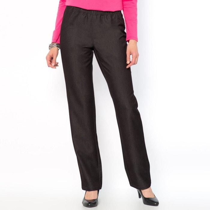 jeans mit gummizug stretch serge schwarz anne weyburn. Black Bedroom Furniture Sets. Home Design Ideas