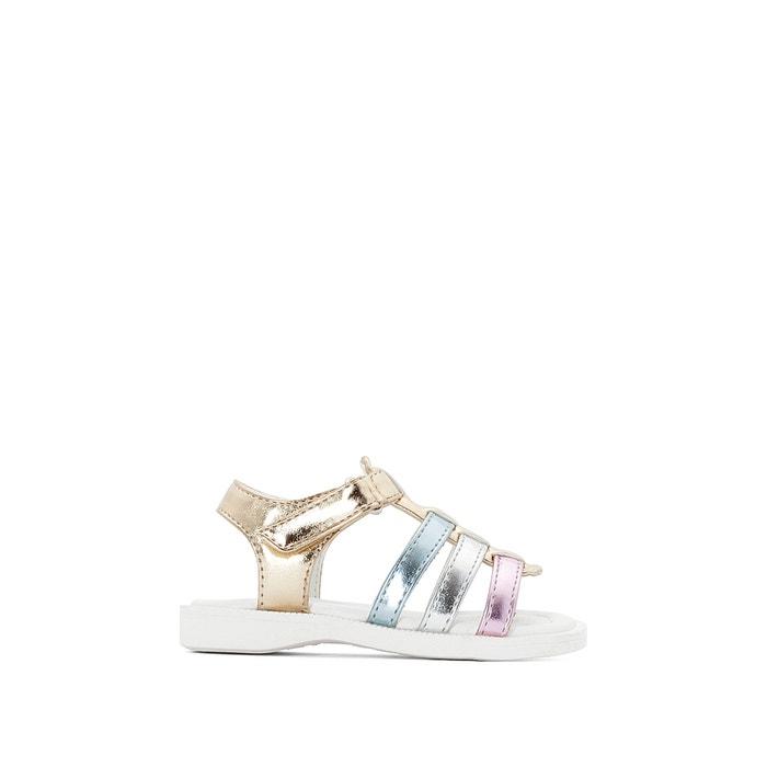 Sandálias metalizadas, do 20 ao 25  La Redoute Collections image 0