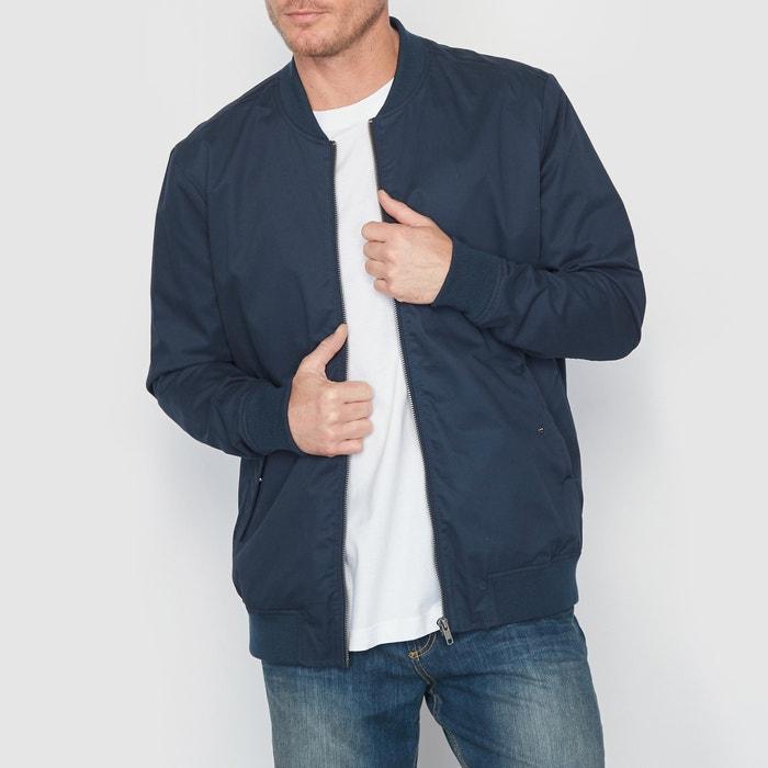 Plus Size Short Mid-Season Jacket with Mandarin Collar  CASTALUNA MEN'S BIG & TALL image 0