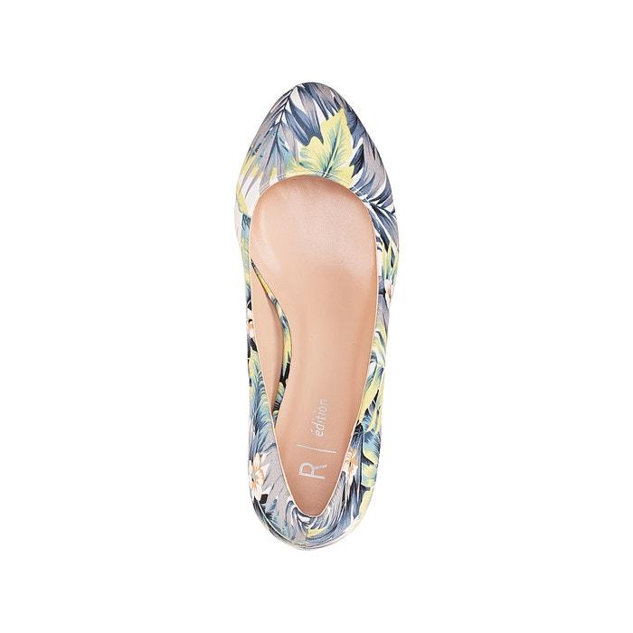 estampado tac Zapatos con Redoute 243;n Collections La tropical de v4wOI0