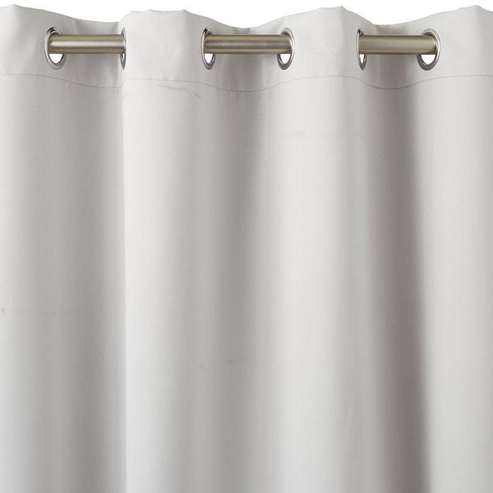 Voda Double-Sided Blackout Eyelet Single Curtain