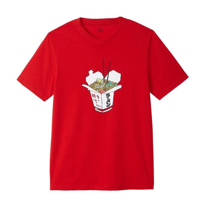 Collections La Redoute Camiseta manga con corta redondo y cuello ZRgRw5Sq