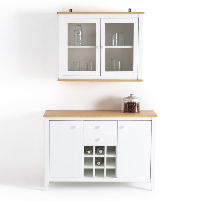 Küchenhängeschrank alvina kiefer massiv la redoute interieurs 4 küchenhängeschrank