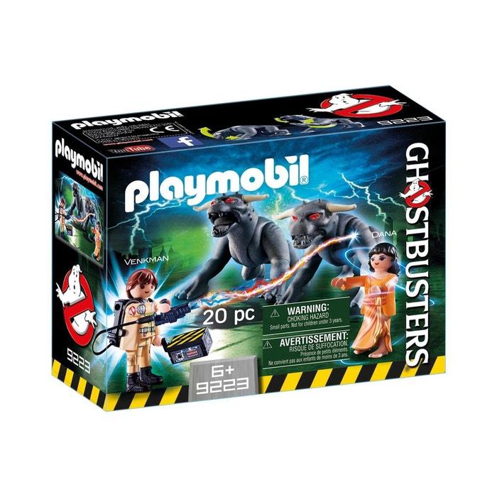 Playmobil 9223 ghostbusters venkman et les chiens de la terreur couleur uni - La redoute playmobil ...