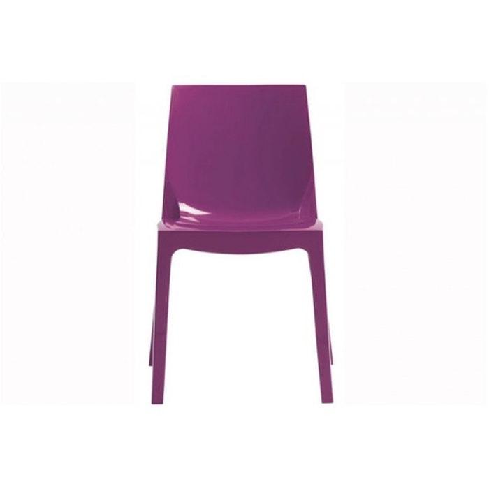 chaise design violette vienne violet declikdeco la redoute. Black Bedroom Furniture Sets. Home Design Ideas