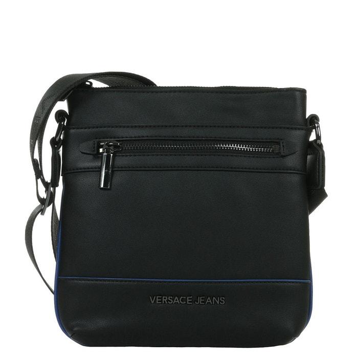 Sac bandoulière linea metal dis. 3 noir bleu Versace   La Redoute 225b8ead240