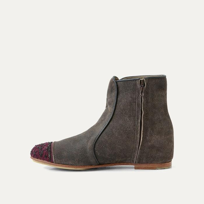 ... Boots cuir MEHER KAKALIA (3) ...