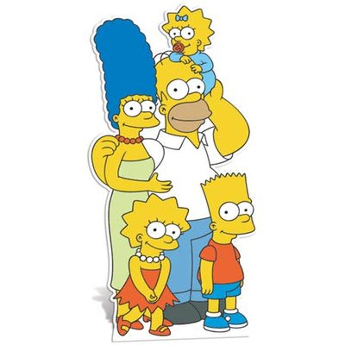 Figurine en carton taille r elle famille simpson jaune - Jeux de lisa simpson ...