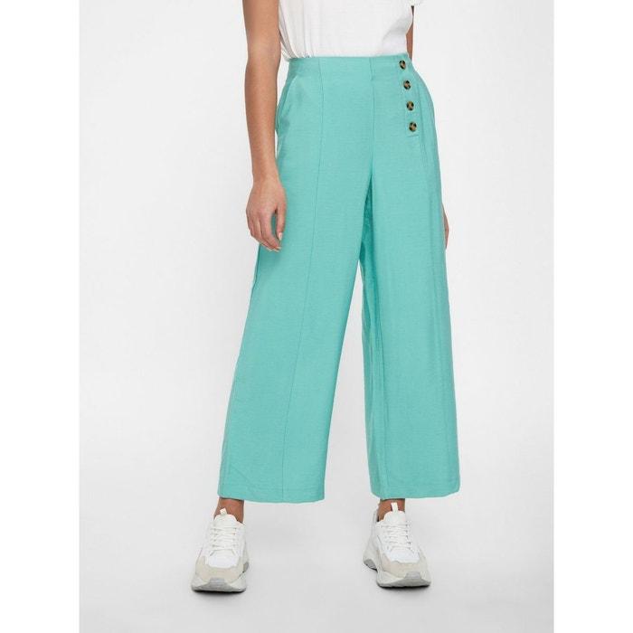 ae148b4b9ae0 Pantalon jupe-culotte longue vert wasabi Vero Moda