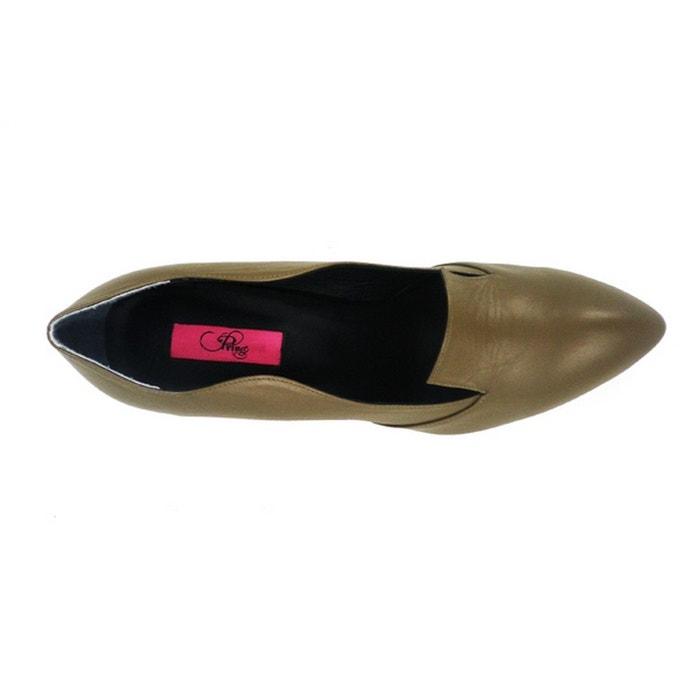 Chaussures femme en cuir bibi fushia Pring Paris