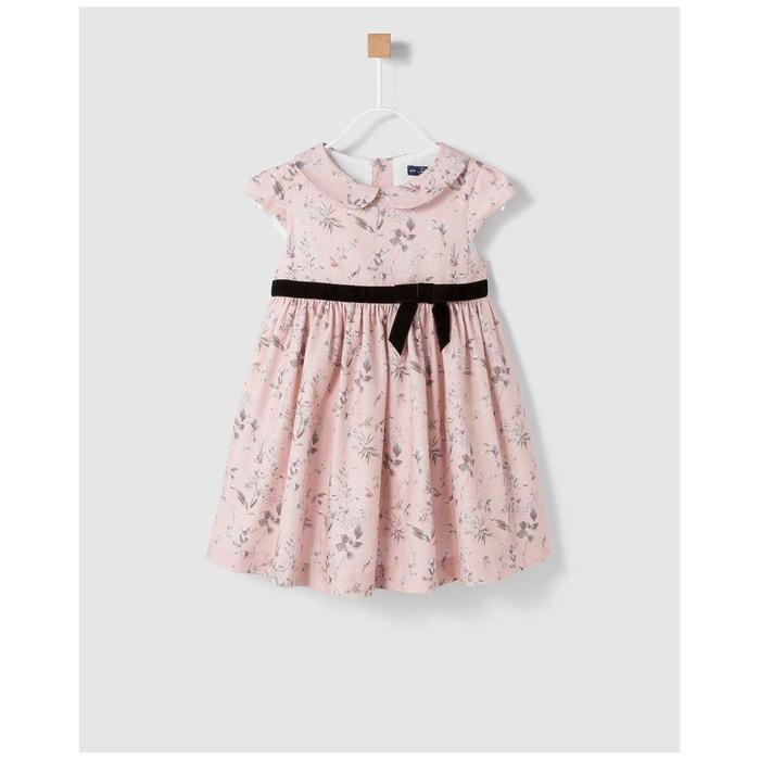 Robe avec ceinture rose Tizzas   La Redoute 2cd1f831225