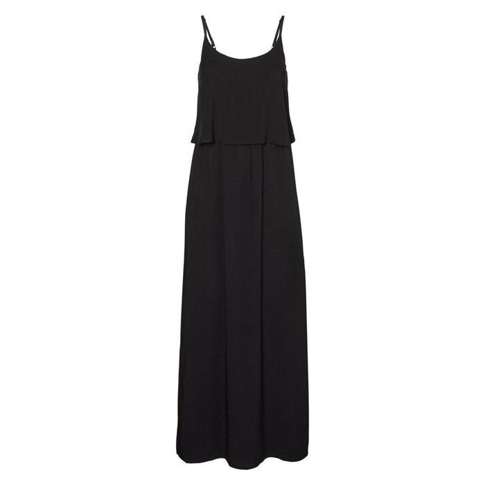 Plain Maxi Dress with Shoestring Straps  VERO MODA image 0