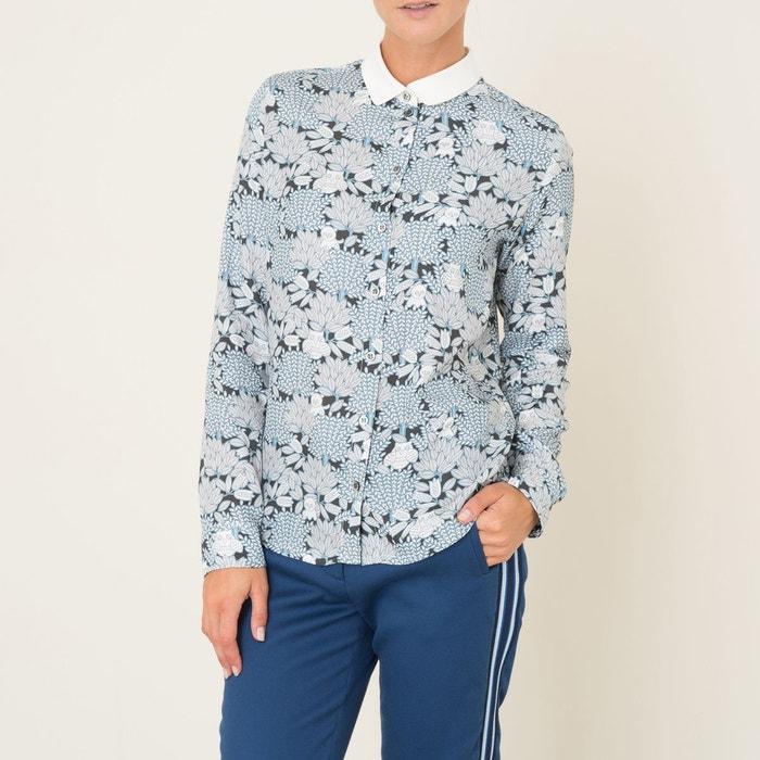 chemise biboux exclusivite brand boutique bleu blanc paul and joe sister en solde la redoute. Black Bedroom Furniture Sets. Home Design Ideas