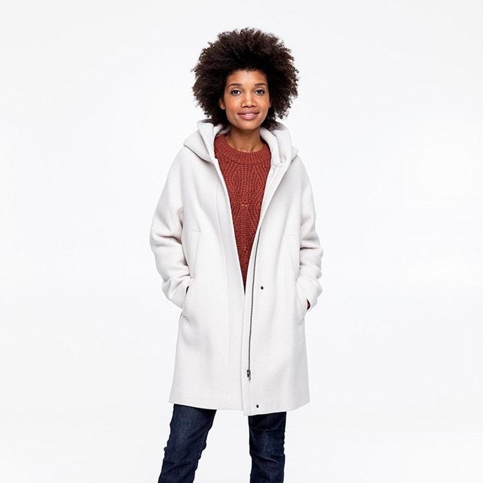 profiter du meilleur prix incroyable sélection Couleurs variées Manteau à capuche en drap de laine