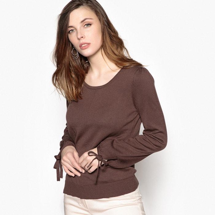 Pull maglia fine, maniche lunghe laccio da annodare  ANNE WEYBURN image 0