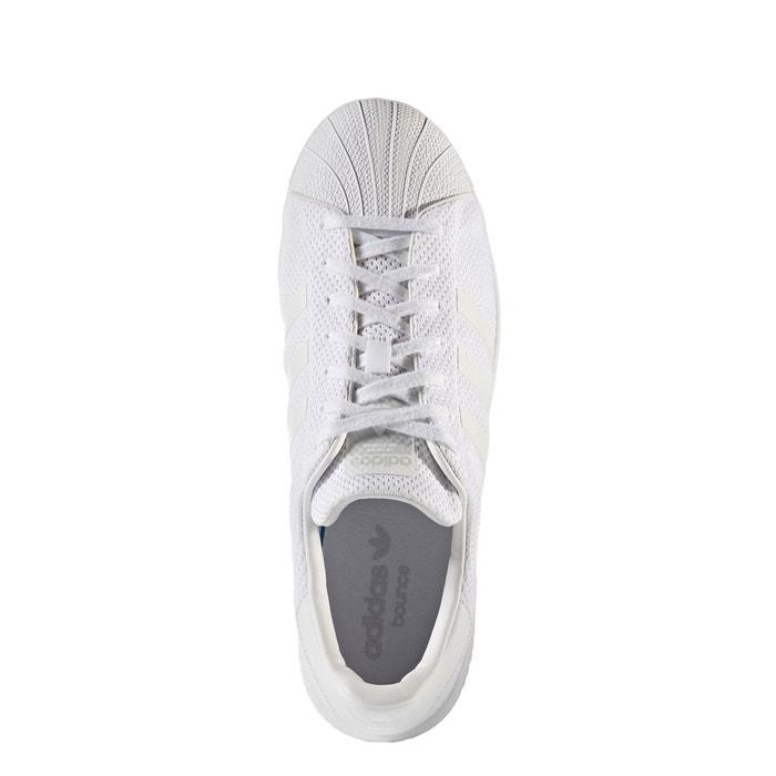 Baskets superstar bounce blanc Adidas Originals
