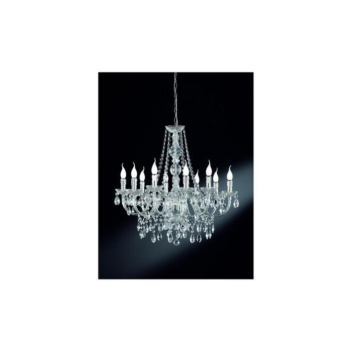 lustre baroque 10 lampes chrome trio la redoute. Black Bedroom Furniture Sets. Home Design Ideas