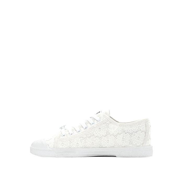 Baskets basic 02 blanc Le Temps Des Cerises