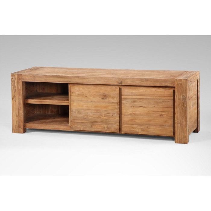 buffet tv kuta 2 portes tag re kha home design la redoute. Black Bedroom Furniture Sets. Home Design Ideas