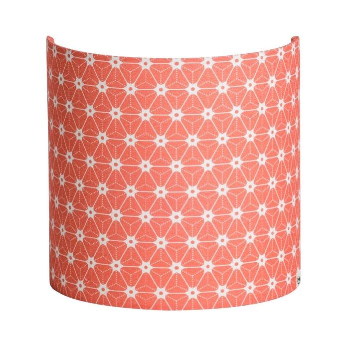 applique tissu ozora avec douille rose fabuleuse factory la redoute. Black Bedroom Furniture Sets. Home Design Ideas