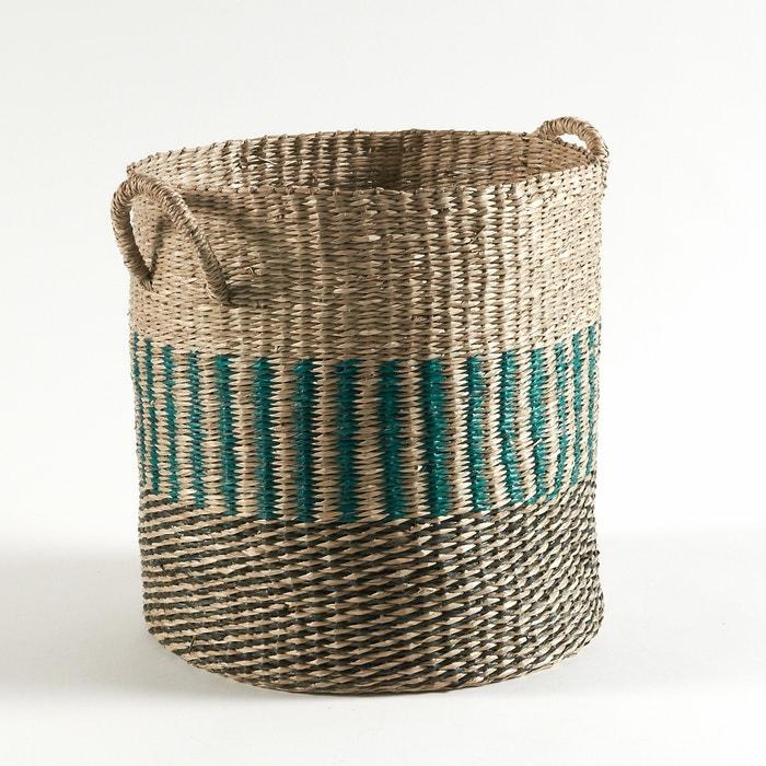 Image Rice Straw Storage Basket, H34cm La Redoute Interieurs
