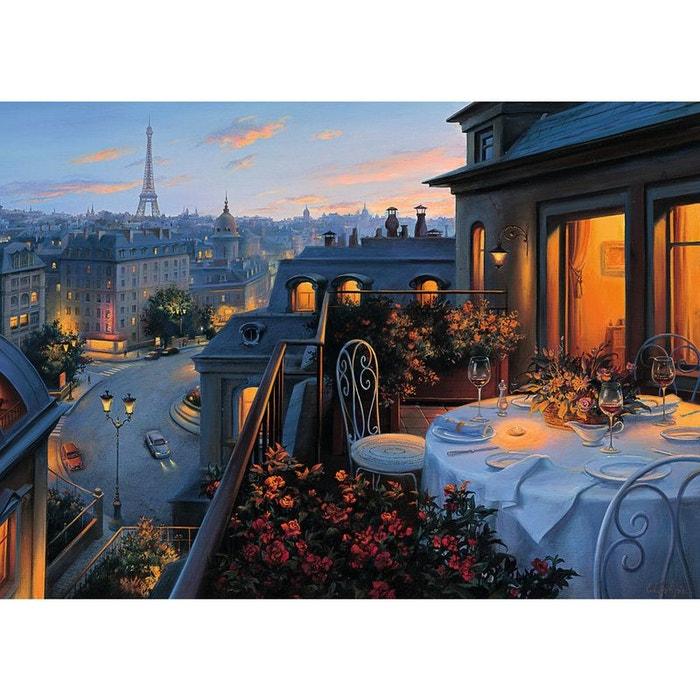 Puzzle 1000 Pieces Diner Romantique En Terrasse Ravensburger La