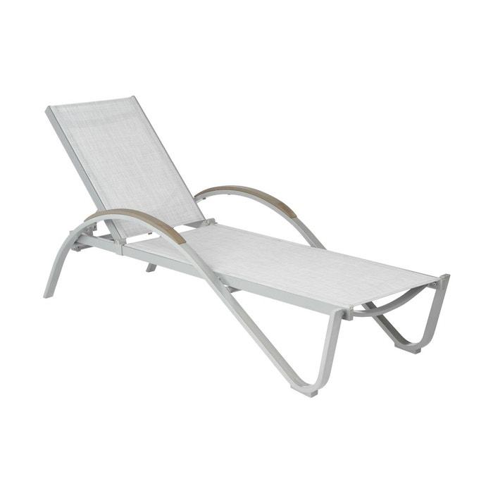 transat okinawa gris chin couleur unique hesperide la redoute. Black Bedroom Furniture Sets. Home Design Ideas