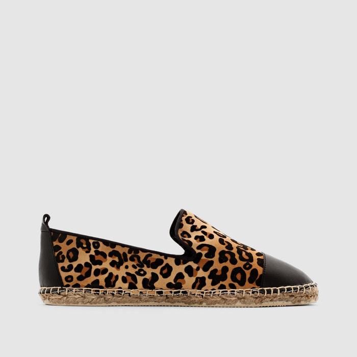 Image Trendy Leopard/Snakeskin Print Espadrilles CASTALUNA