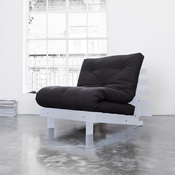 pack matelas futon gris anthracite coton structure en bois gris clair terre de nuit gris terre. Black Bedroom Furniture Sets. Home Design Ideas