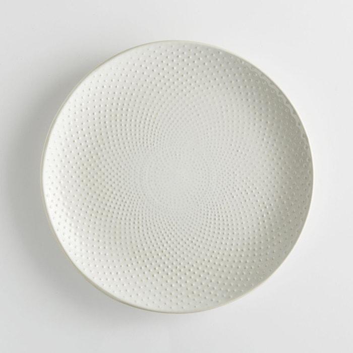 assiette plate grain de riz lot de 4 arsenia la redoute interieurs la redoute. Black Bedroom Furniture Sets. Home Design Ideas
