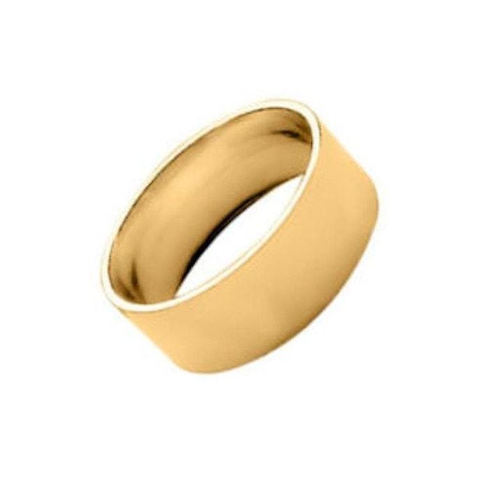 Bague alliance anneau ruban 8 mm vermeil (or 750 sur argent 925) couleur unique So Chic Bijoux | La Redoute Magasin De Sortie De Dégagement 6gI7LnvB