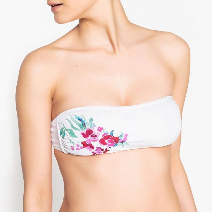 officiel style actuel taille 7 Haut de maillot de bain bandeau avec coques