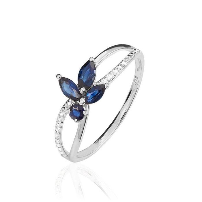 Bague lupe or blanc saphirs et diamants blanc Histoire D'or | La Redoute Une Surprise Énorme Pas Cher mF5kk3Jf9Y