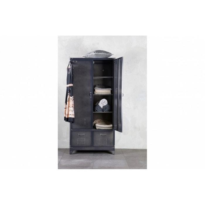 armoire metallique noire armoire mtallique basse portes. Black Bedroom Furniture Sets. Home Design Ideas